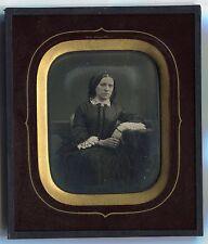 Désiré François Millet - Daguerréotype -  1/4 plaque - Femme -