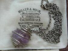 Silver Pendant/Locket Vintage Costume Jewellery (1970s)