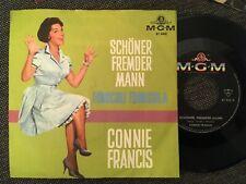 7'Connie Francis  >Schöner Fremder Mann/Funiculi...< Germany  ORIGINAL