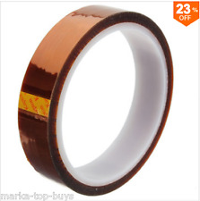 20mm x 100ft kapton tape High temperatura de tuberías heat resistant polyimide Gold
