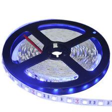 Flexible LED Strip Light  Blue 5050 SMD  Non-Waterproof 300LEDs  DC 12V 60 Led/m