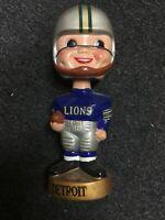 Vintage Detroit Lions Football Bobble Head Nodder Pretty Nice.!