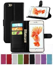 Wallet Leather Flip Card Case Cover For Apple iPhone 6 6S Plus Genuine AuSeller