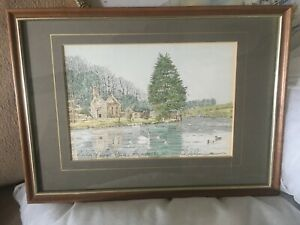 Quality Chris Robinson Litho Print Hand Coloured Signed In Pencil By Artist