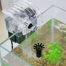 4.5W 500L/H Aquarium Fish Tank Hang on Waterfall External Biological Filter Pump