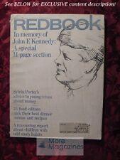 REDBOOK November 1964 JOHN F KENNEDY RICHARD MARTIN STERN MERRILL JOAN GERBER