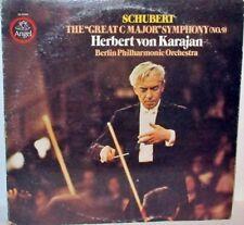 Herbert Von Karajan - Schubert The Great C Major Symphony LP Vinyl Angel SQ Quad