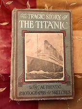 1ST ED 1912 HENRY FREDERICKS TRAGIC STORY TITANIC PHOTOGRAPHS WHITE STAR LINE ⚓️