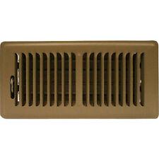 Truaire 2X10 Floor Grille 2-Inch x 10 Inch Floor Register, Brown 150MB