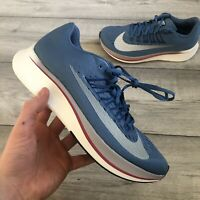 NIKE ZOOM FLY STORM/WHITE TRAINERS SIZE UK6/US7/EUR40 880848-402