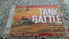 Vintage Tank Battle - Stragedy Board Game - 1975 Milton Bradley - Collector!
