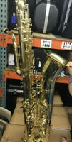 BBb Bass Saxophone, Deep Rich and Powerfull with wheeled case and Mouthpiece