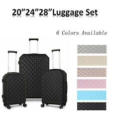 Hardside Lightweight Luggage With Spinner Wheels 6 Clors3 Piece Set 202428