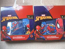 Pack of 3 Boy's Spiderman Briefs/slips/pants, 2 colourways, 3 sizes