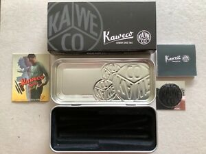 KAWECO small metal storage/gift tin for SPORT pens and pencils