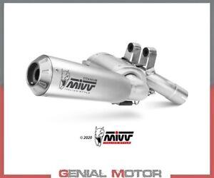 Exhaust Muffler Mivv X-m1 Titanium Bmw F 900 R 2020 > 2021