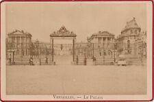 VERSAILLES LE PALAIS  format CABINET 15 X 10 cm Ca 1890