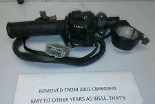 2001 cbr600f4i Cbr600  f4i left clip on clutch perch turn switch horn button