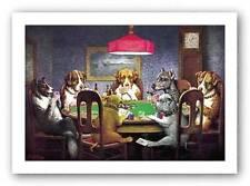 DOG ART PRINT A Friend In Need CM Coolidge 13.75x9.5