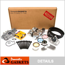 Fit 88-91 Honda Civic CRX 1.5 SOHC Overhaul Engine Rebuild Kit D15B2 D15B7