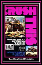MONSTER TRUCKS, CRUSH THIS!, The Original video, a Main Event Entertainment DVD