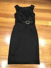 Monica Black Label Dress Size 8 Worn Once Good Condition Black Made In Australia