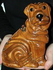 TIMMY WOODS SHAR PEI WRINKLED DOG SHOW SHOULDER BAG CLUTCH ENGLISH BULLDOG PURSE