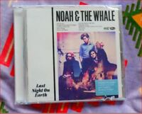 "Noah & the Whale: NEW Sealed ""Last Night On Earth"" CD +Life Goes On/Wild Thing"