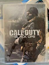 Very Rare Dutch Pre-Order Call Of Duty Black Ops Steelbook - Stickerbook G1