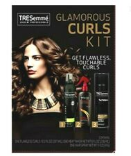 TREsemme Glamorous Curls Kit 3 Step Prep Style Finish Flawless Touchable Curls