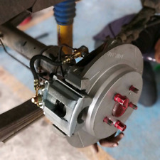 TOYOTA hilux rear disc brake conversion. Drum to disc