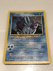 Pokémon Suicune - Neo Revelation - Legendary Dog - Holo Rare 14/64 - MINT!