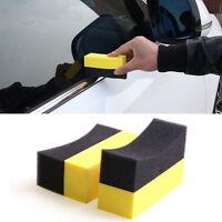 3/10pcs Almohadilla de esponja de coche Aplicador de vendaje de neumáticos