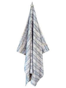 Natural Black Turkish Linen Bath and Beach Towel - GET 20% OFF