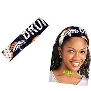 Denver Broncos NFL Fanband Headband Ladies Team Apparel
