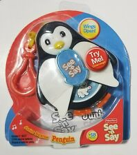 New Fisher Price See N' Say JR Junior Surprise Penguin Learn & Play 2009 Mini
