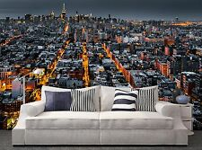 New York City at Night  Wall Mural Photo Wallpaper GIANT WALL DECOR Paper Poster