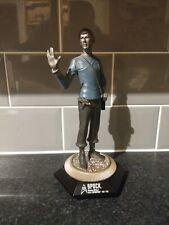 Rare Star Trek Spock Portrait Sculptures Pewter Statue In Excellent Condition