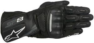 Alpinestars SP-8 Leather Motorcycle Gloves, Black,  Medium, Large, XL, 2XL, 3XL