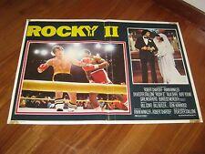 FOTOBUSTA,1979 ROCKY II Sylvester Stallone Boxer Pugilato