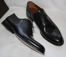 A TESTONI LACE UP WINGTIP OXFORD BLACK LEATHER #11.5 $595