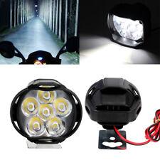 12V Motorcycle Motorbike LED Headlight Round Working Light Fog Spot Headlamp