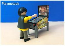 PINBALL MINIATURA MACHINE MINIATURE FLIPPER CUSTOM FIGURA PLAYMOBIL NO INCLUIDA