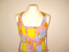 Pepe dress Andy Warhol print # cotton/ silk mix # unworn #  Gr. M