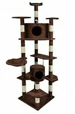 BestPet 80 inch Cat Tree Condo Furniture Scratch Post Pet House - Brown