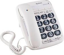 BT Big Button 200 Corded Desk Telephone - Single.