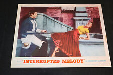 1955 Interrupted Melody Lobby Card #5 Marjorie Lawrence 55-104 (C-5)