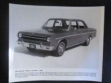 1969 American Motor's Corp. RAMBLER 440 FOUR-DOOR Wilhelm Karmann PHOTO VINTAGE