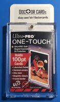 (2 PACK) Ultra Pro 100PT ONE TOUCH MAGNETIC HARD CASE FOR YOUR MLB BREAK HITS