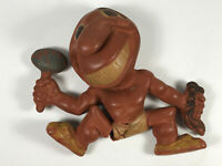 1940's Rempel Rubber Cleveland Indians Chief Wahoo Baseball Toy repair